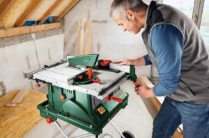 Bosch PTS 10 Tischkreissäge im Test